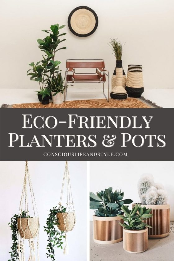 Eco Friendly Planters and Pots - Conscious Life and Style