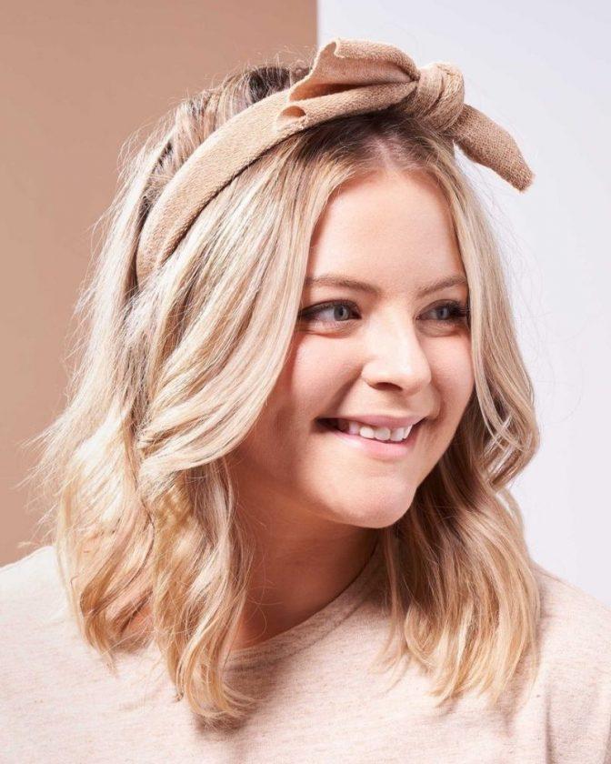 Regenerative sustainable stocking stuffers - undyed headband