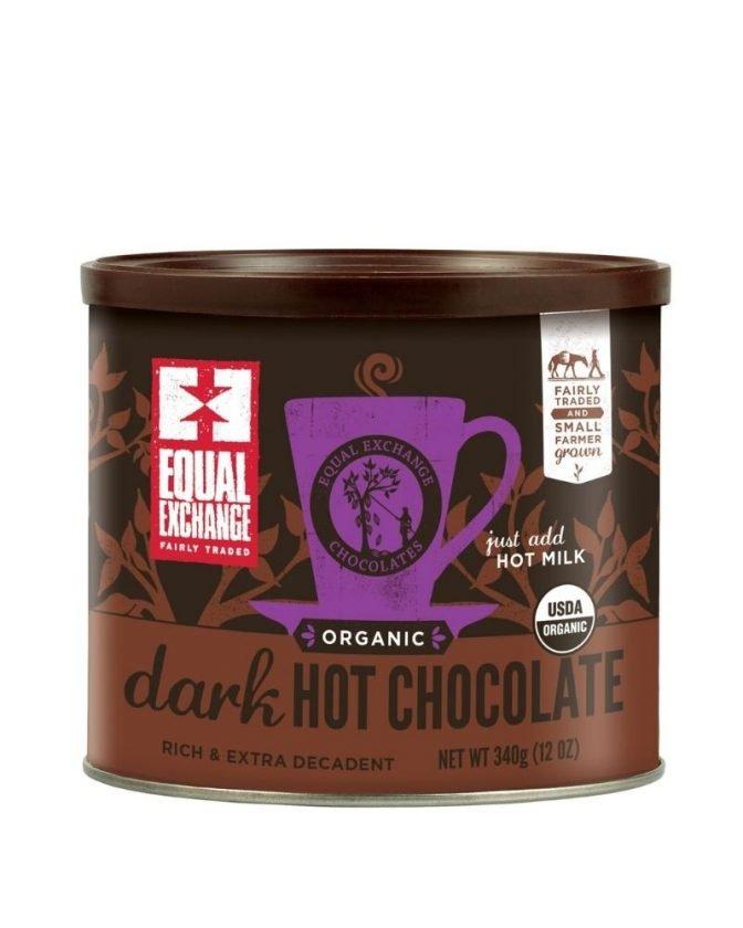 Sustainable stocking stuffers - organic hot chocolate mix