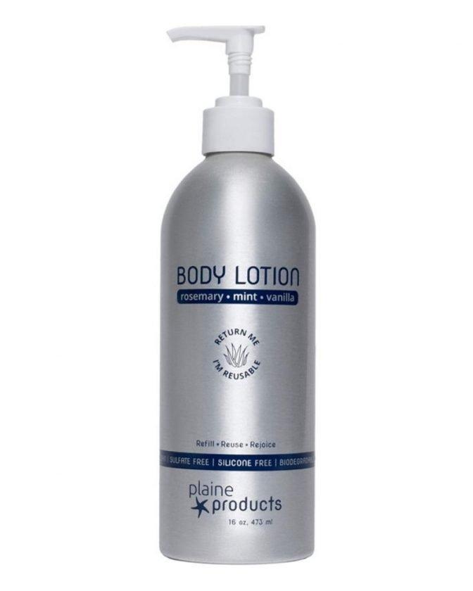 Zero waste stocking stuffer - refillable body lotion