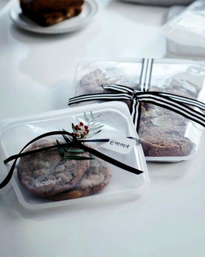 Zero waste stocking stuffer gift - Stasher bags