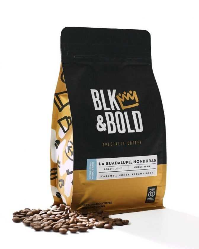Ethically made coffee from BLK + BOLD