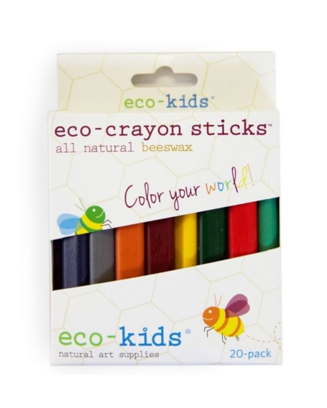 Sustainable stocking fillers for kids - eco friendly crayons