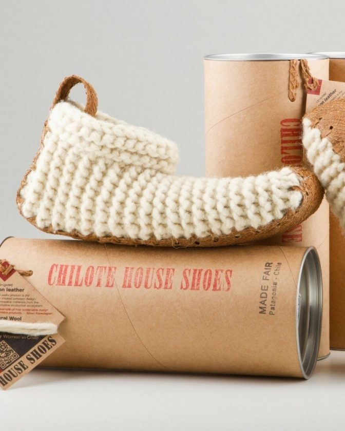 Ethical gift idea - Chilote's fair trade slippers