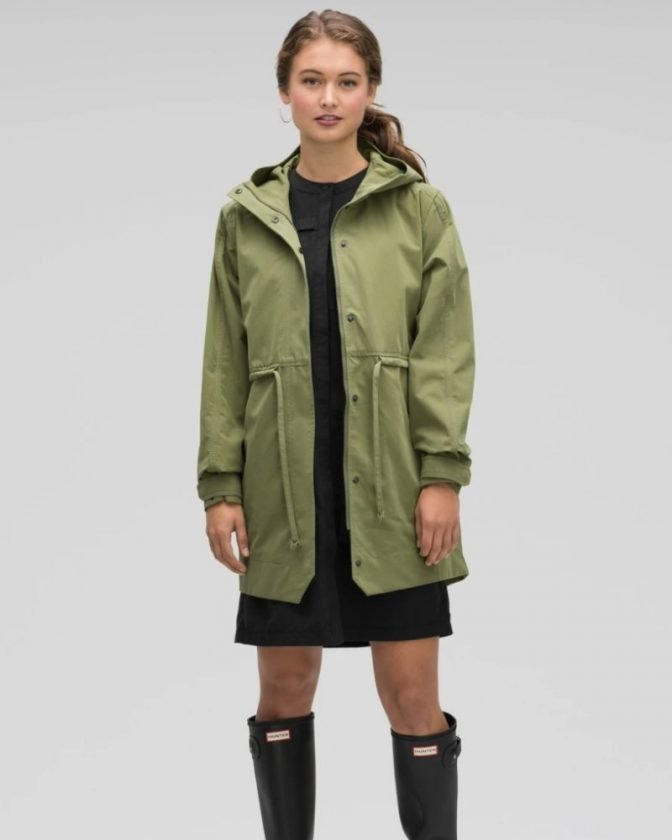 Sustainable rain jackets and other eco-friendly coats from Nau