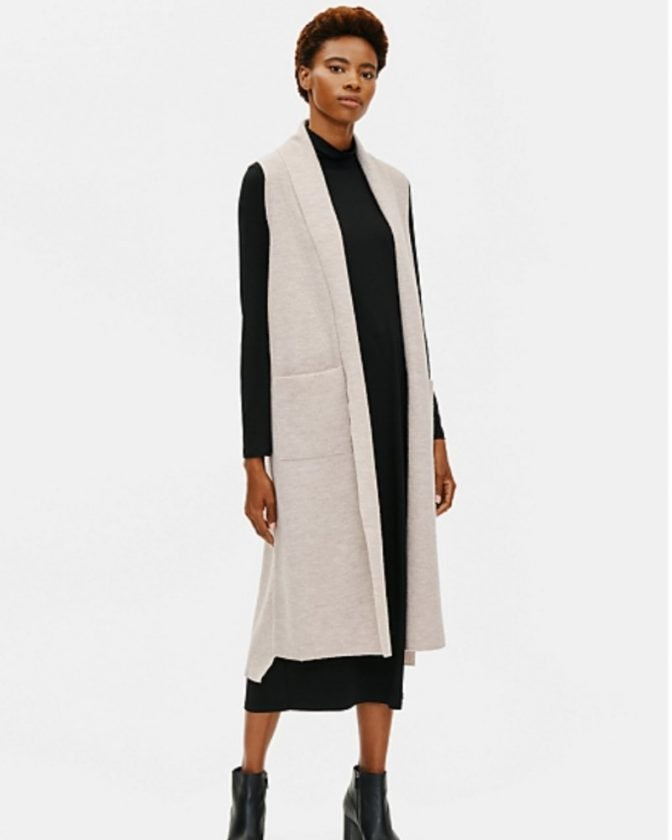 Beyond sustainable gifts: regenerative wool clothing from Eileen Fisher