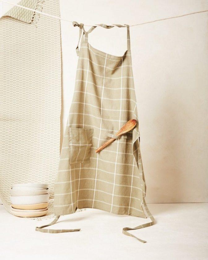 Fair trade apron from Minna