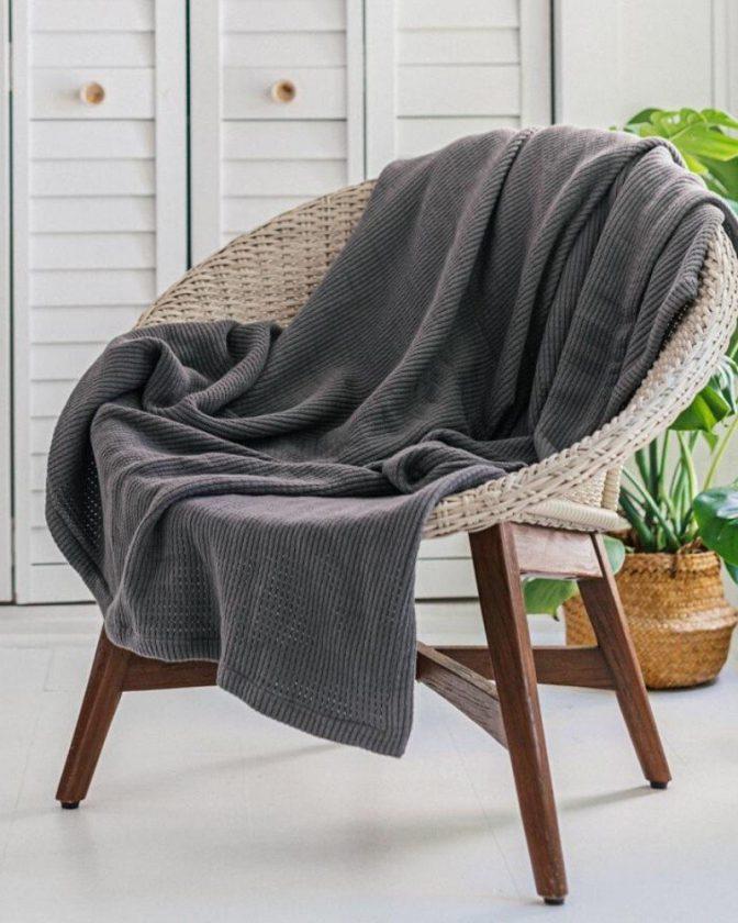 Organic cotton blankets from Grund