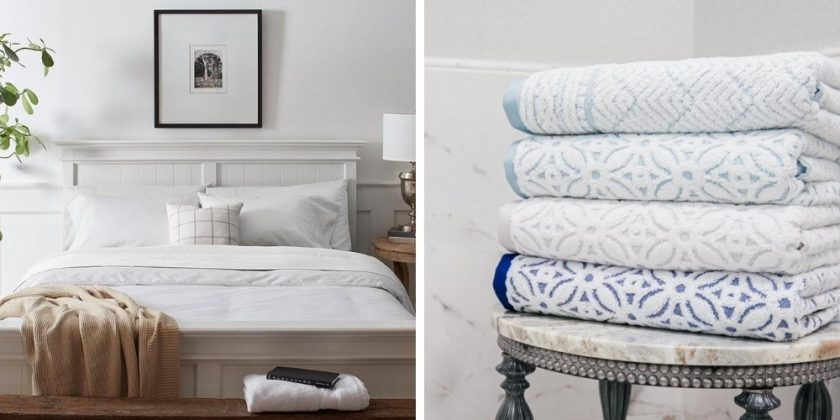 Organic eco-friendly bedding and towels from Grund