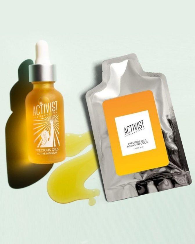 Zero waste skincare brand Activist Collective