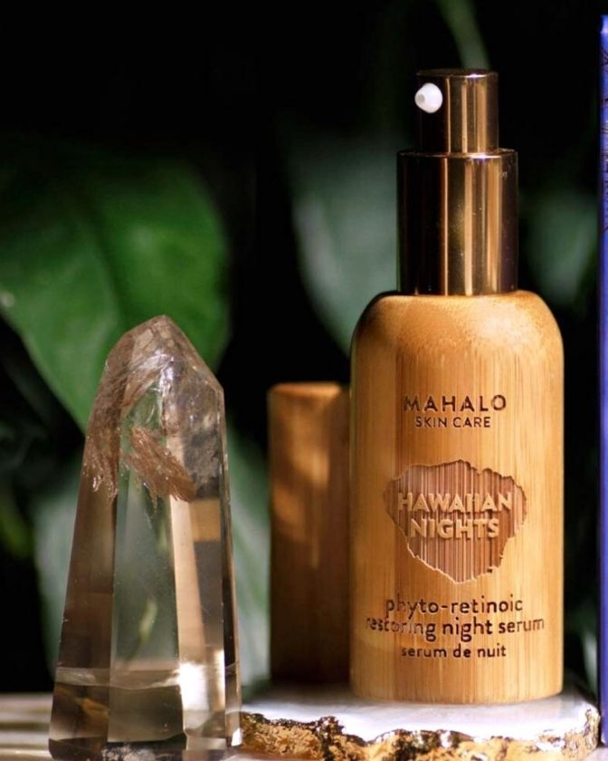 Non-toxic skincare from Mahalo