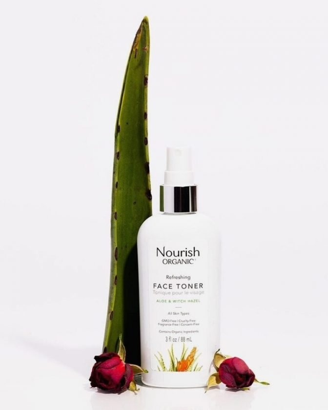 non-toxic and organic skincare from Nourish Organic