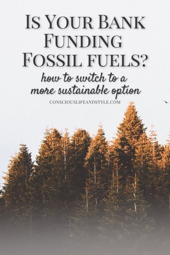 Is Your Bank Funding Fossil Fuels? How to Switch to a More Sustainable Option
