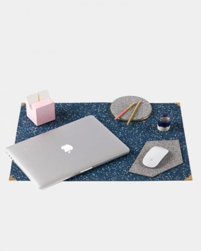 Eco friendly gifts - recycled desk mat