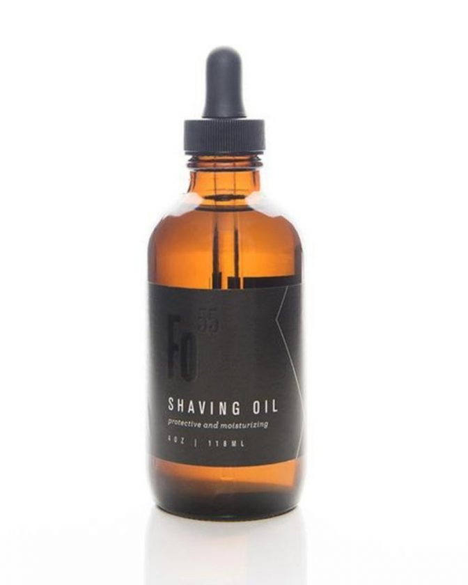 Eco-Friendly Shave Oil from Formulary 55