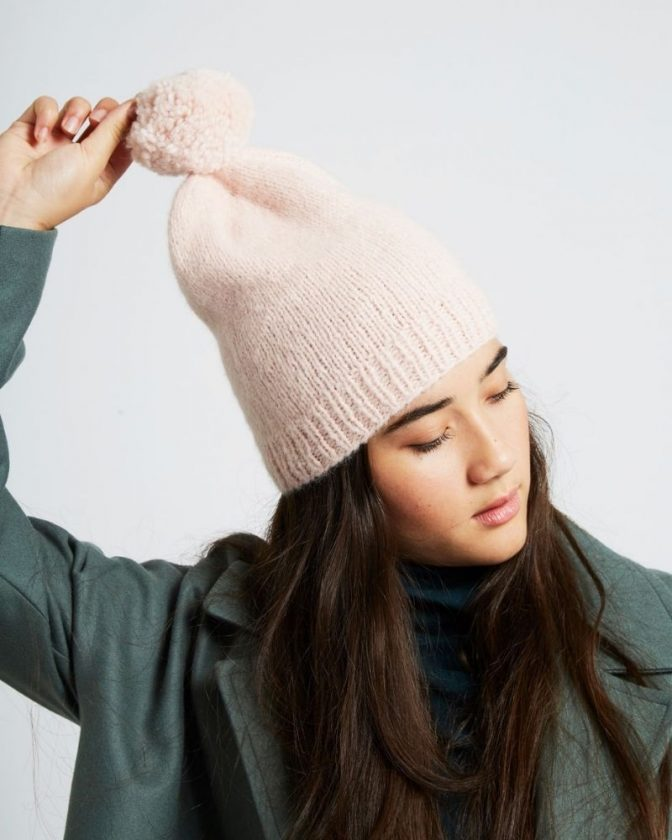 Sustainable hats and scarves from Wool and the Gang