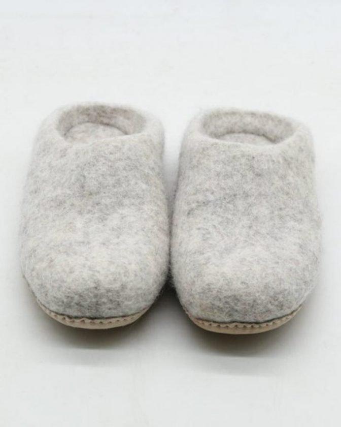 Ethical slippers from Felt & Yarn