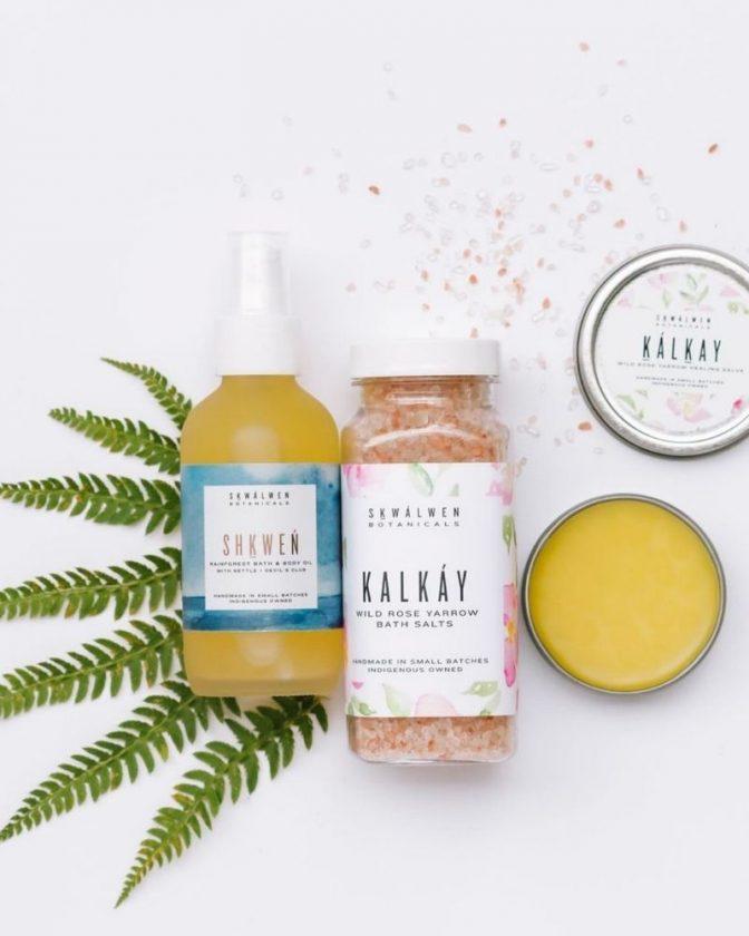 Indigeneous Skincare and Beauty Brand Skwalwen Botanicals