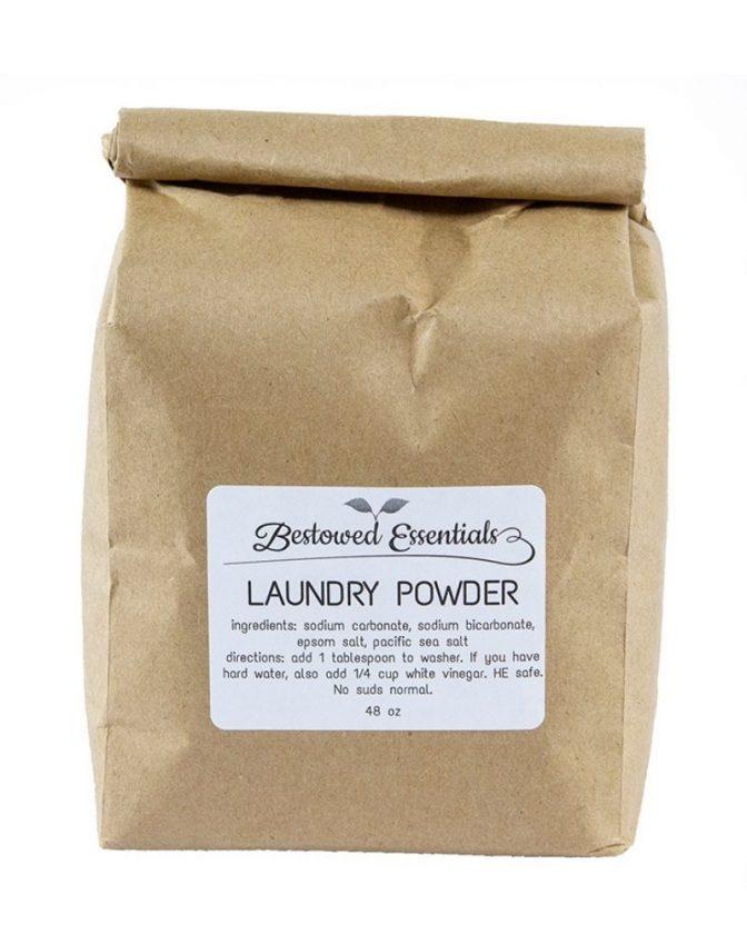 Zero Waste Laundry Powder from Bestowed Essentials