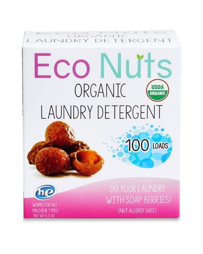 Organic Plastic-Free Laundry Detergent from Eco Nuts