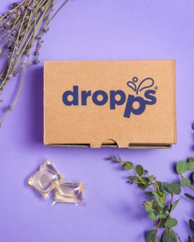 Zero Waste Laundry Detergent Pods from Dropps