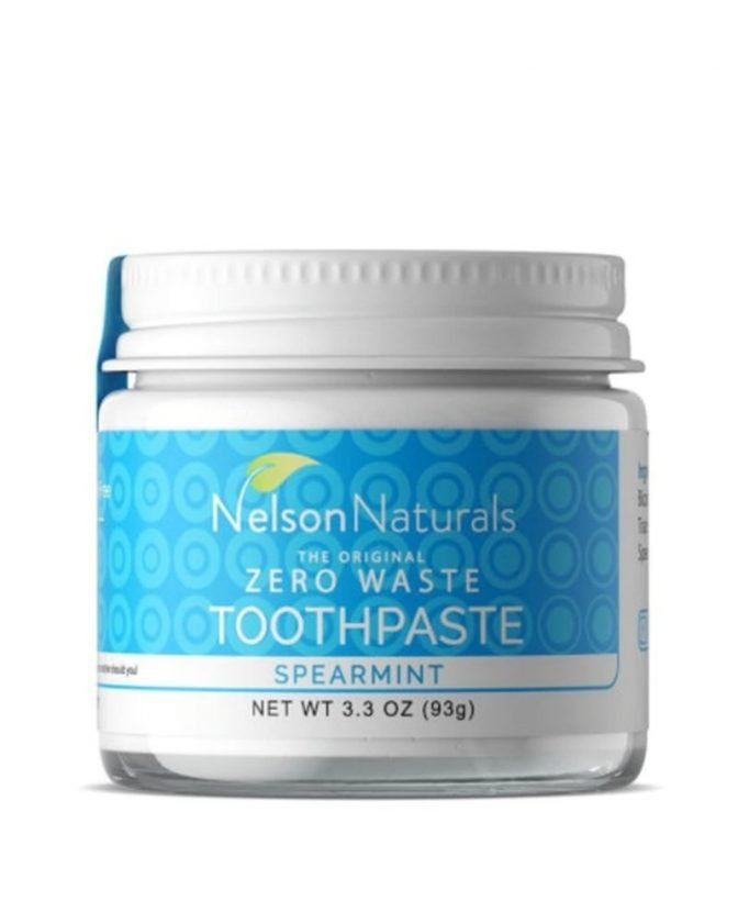 Plastic-Free Toothpaste from Nelson Naturals