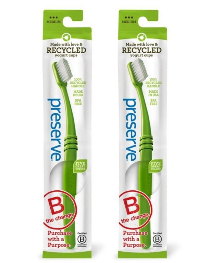 Recycled Zero Waste Toothbrushes