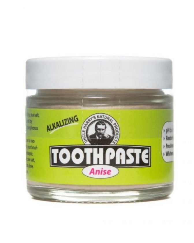 Zero Waste Toothpaste Glass Jar from Uncle Harry's