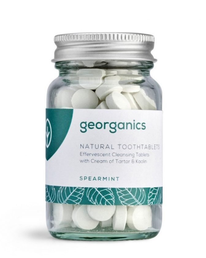 Sustainable Plastic-Free Toothpaste from Georganics