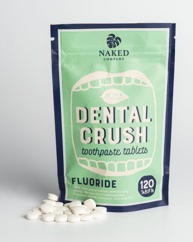 Eco-Friendly Toothpaste Tablets from Naked Company