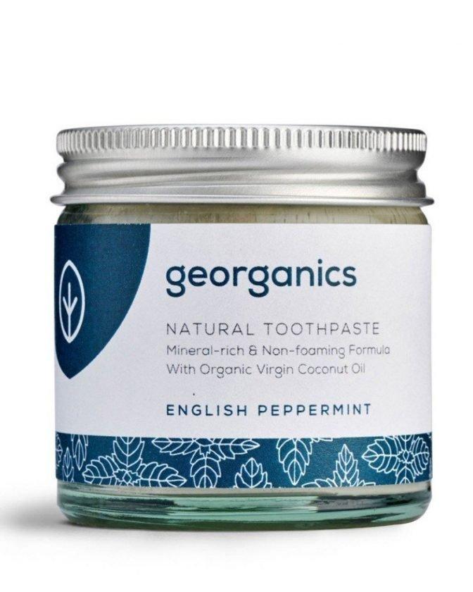 Zero Waste and Plastic Free Toothpaste from Georganics