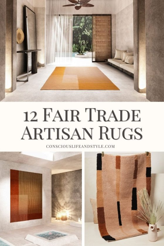 12 Fair Trade Artisan Rugs - Conscious Life and Style