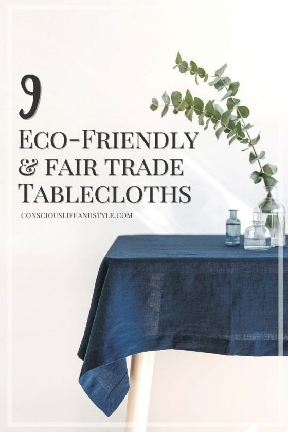 9 Eco Friendly and Fair Trade Tablecloths - Conscious Life and Style