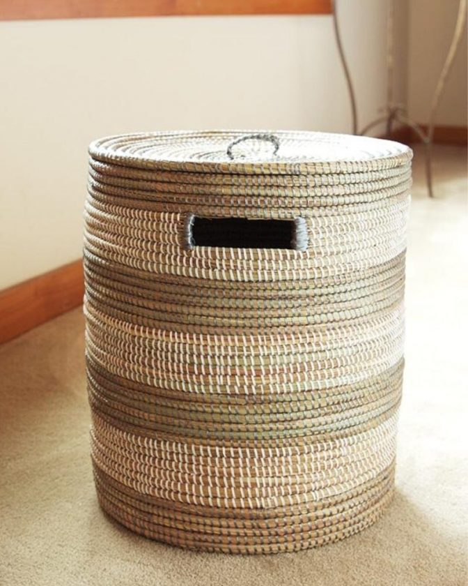 Ethical and Eco Friendly Baskets from Swahili African Modern