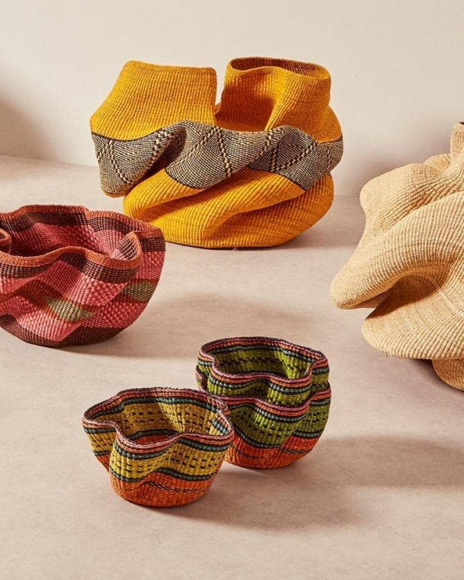 Ethical Artisan Made Baskets from Baba Tree
