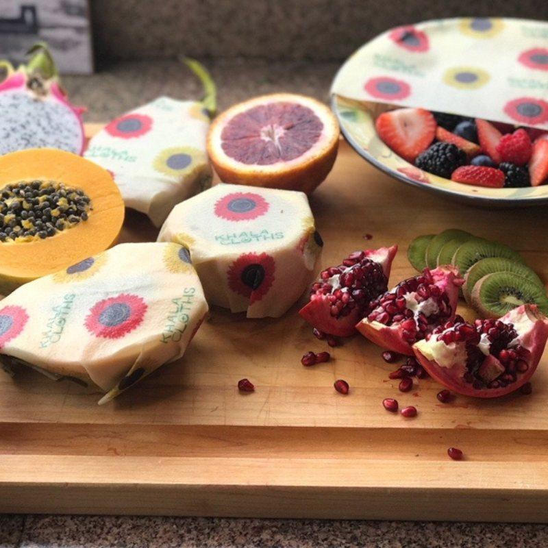 Eco Friendly Food Storage: Vegan Food Wrap