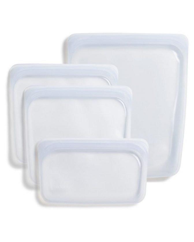 Zero Waste Food Storage: Reusable Plastic-Free Silicone Bags