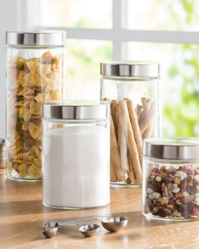 Zero Waste Plastic-Free Food Storage: Glass Jars