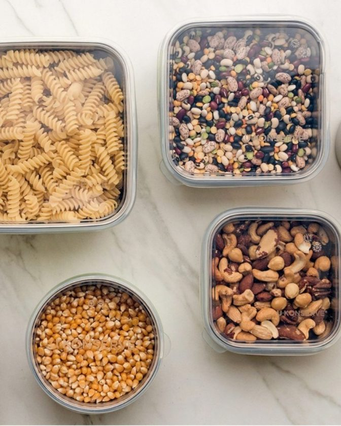Zero Waste Food Storage: Stainless Steel Containers