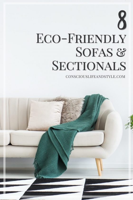 8 Eco Friendly Sofas and Sectionals - Conscious Life and Style