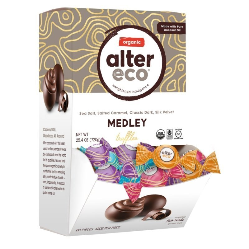 Fair Trade Valentine's Day Gifts - Alter Eco Chocolate Truffles