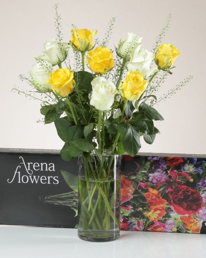 Fairtrade roses and Fairtrade flower bouquets from Arena Flowers