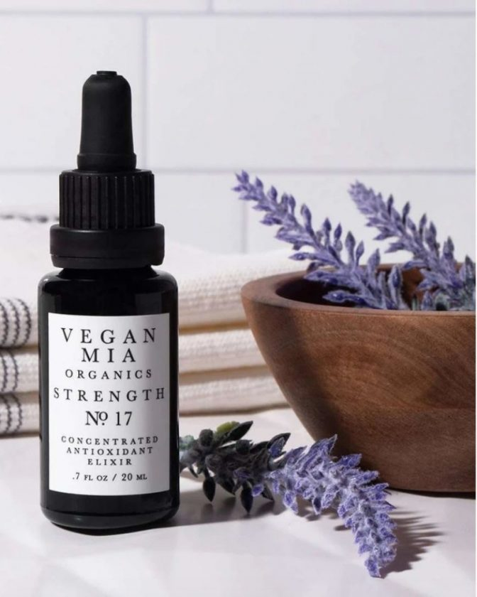 Low waste and non-toxic skincare from Vegan Mia Organics