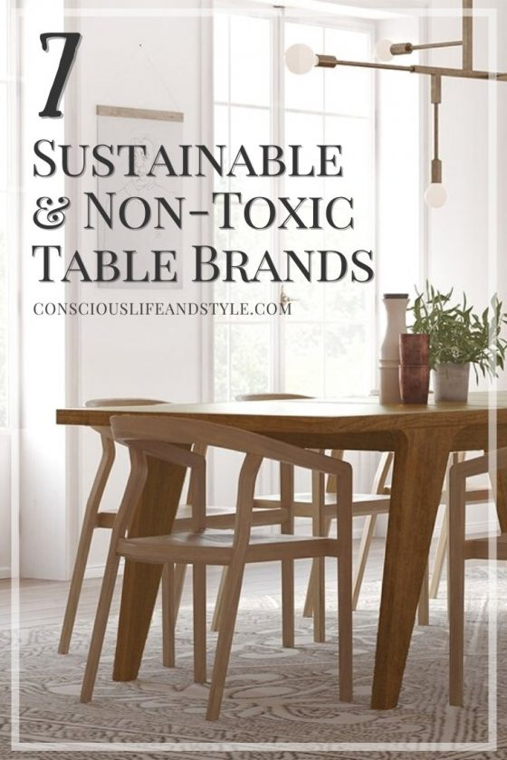 7 Sustainable and non-toxic table brands - Conscious Life and Style