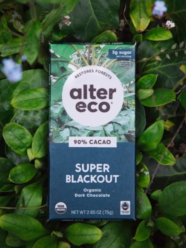 Fair trade ethical and organic dark chocolate from Alter Eco