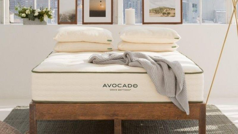 Wooden and sustainable bed frame from Avocado Mattress
