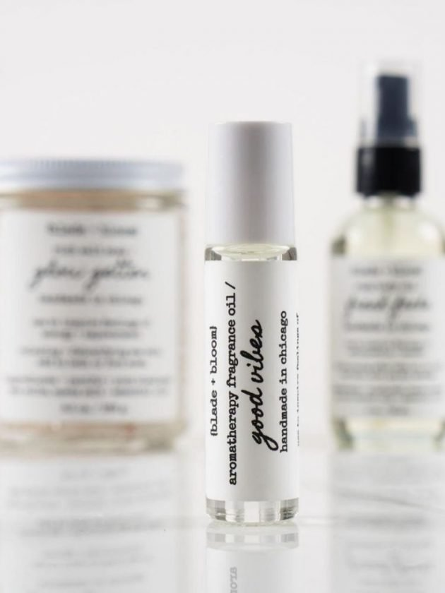 Eco friendly, natural and sustainable perfume from Blade + Bloom