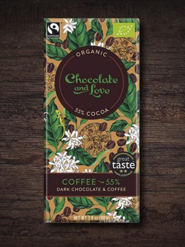 Fair trade ethical dark chocolate from Chocolate and Love