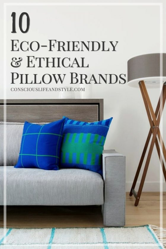 10 Eco-Friendly Ethical Throw Pillow Brands - Conscious Life and Style