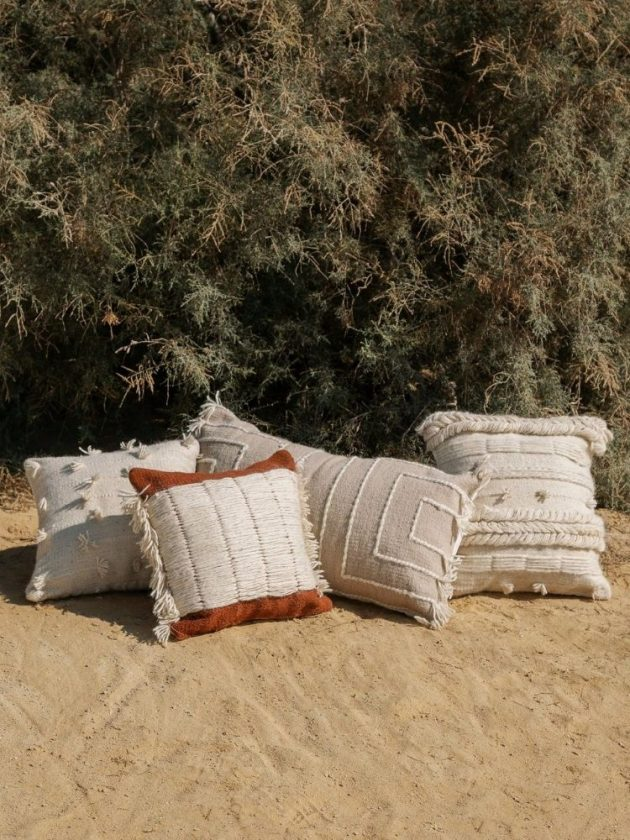 Ethical throw pillows from Kiliim